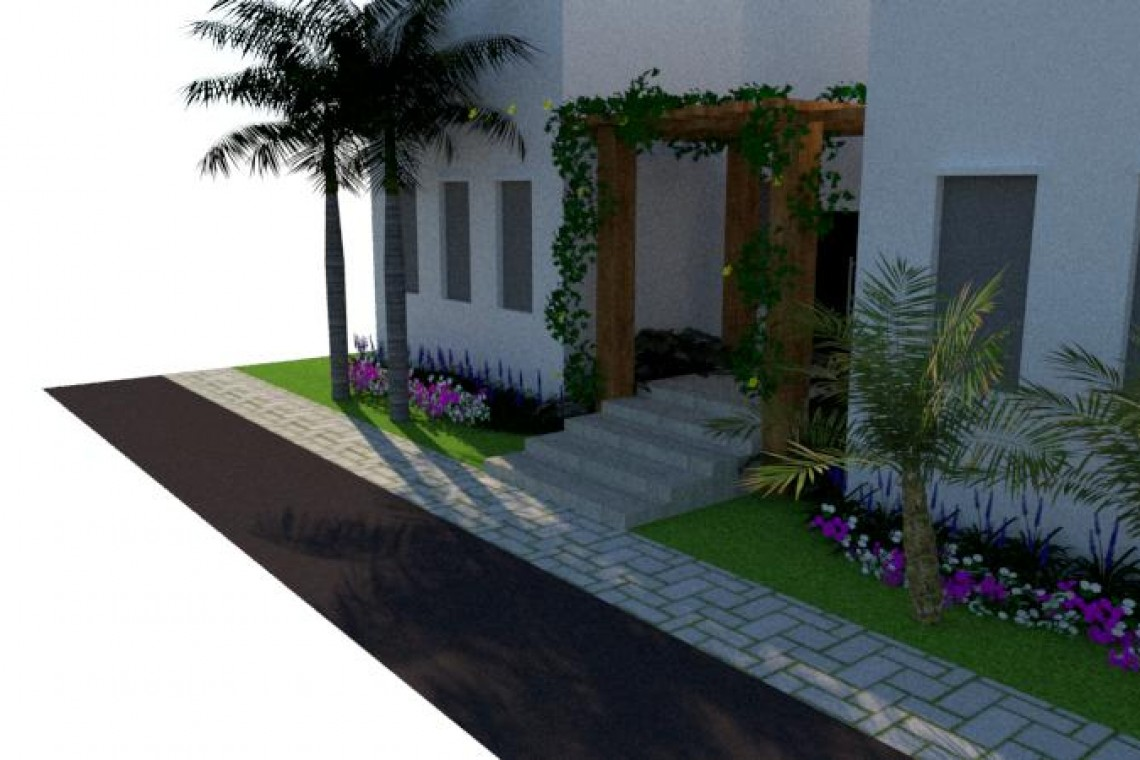 renderizacion3dSKETCHUP-jardinesguayaquil