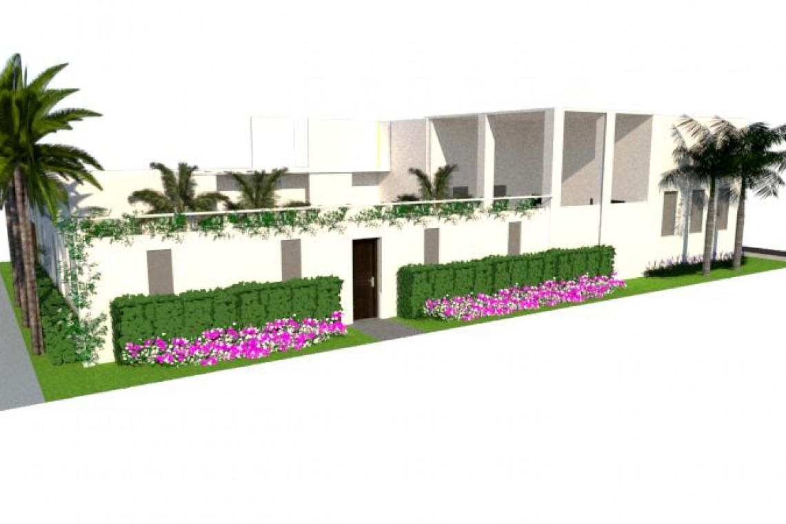 diseno3dSKETCHUP-jardinesguayaquil